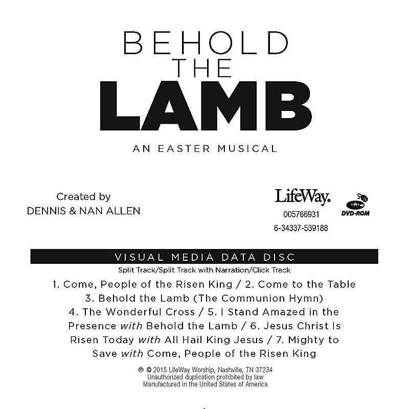 Behold the Lamb - Visual Media Data Disc