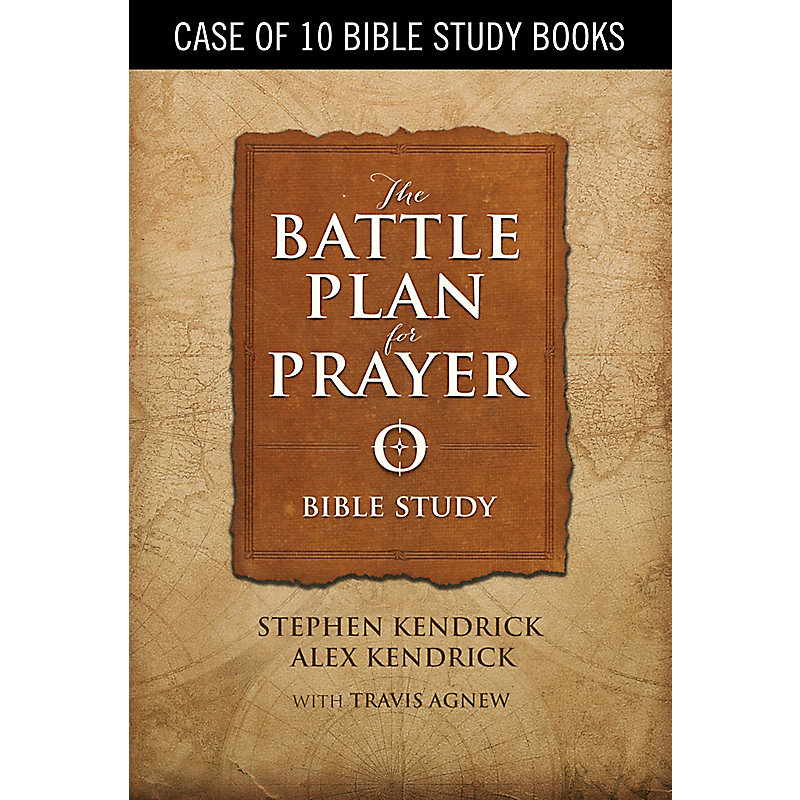 The Battle Plan for Prayer - Bible Study Book (Case of 10)