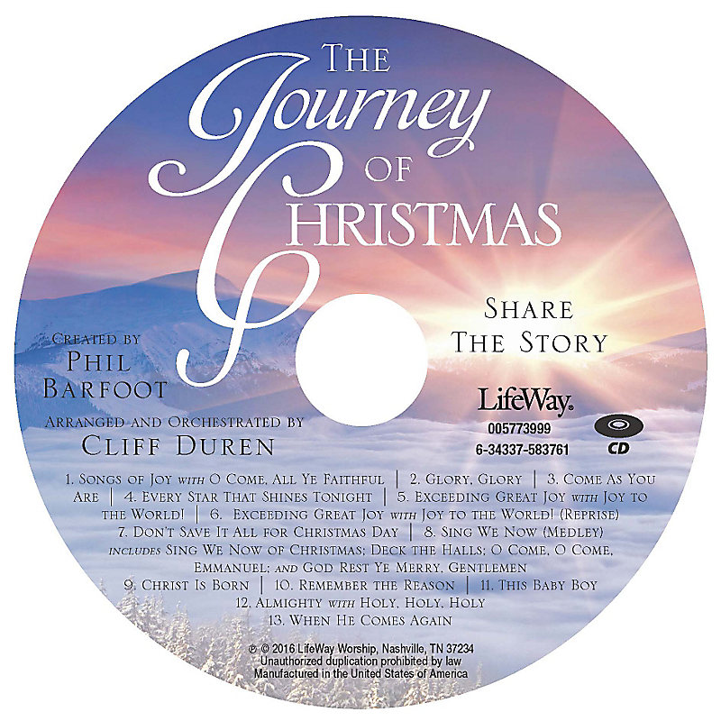 The Journey of Christmas - Rhythm Charts CD-ROM
