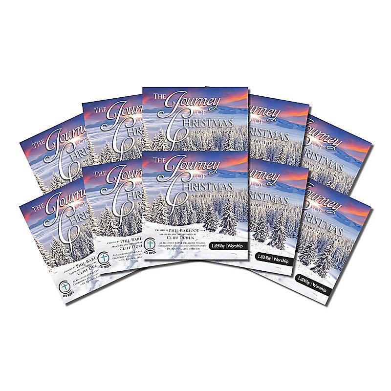 The Journey of Christmas - Bulk Listening CDs (Pack of 10)