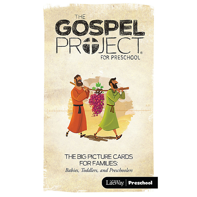 The Gospel Project Preschool: Volume 3 - The Promised Land - Big Picture Cards for Families - Preschool