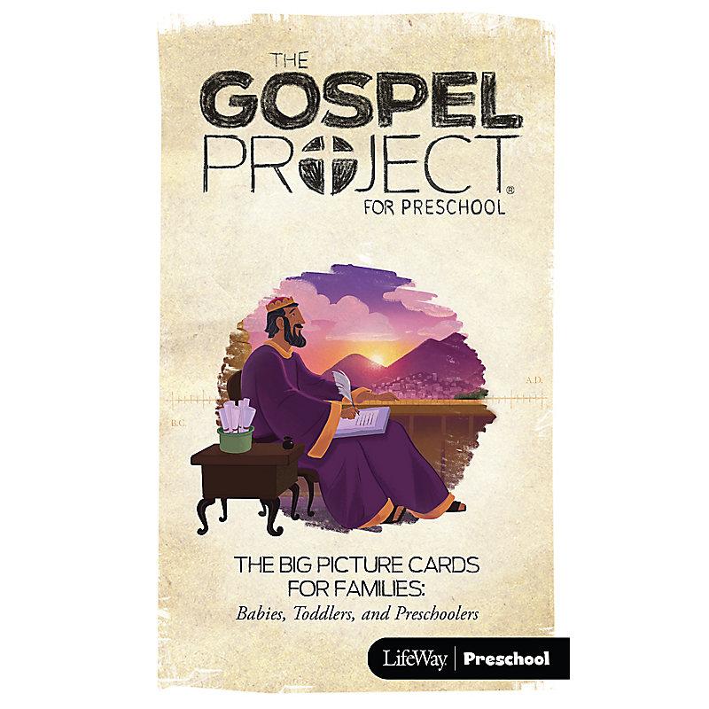 The Gospel Project for Preschool: Big Pictures Cards for Families: Preschool - Volume 4: A Kingdom Established