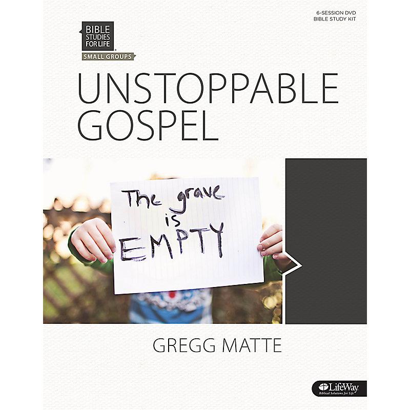 Bible Studies for Life: Unstoppable Gospel - Leader Kit