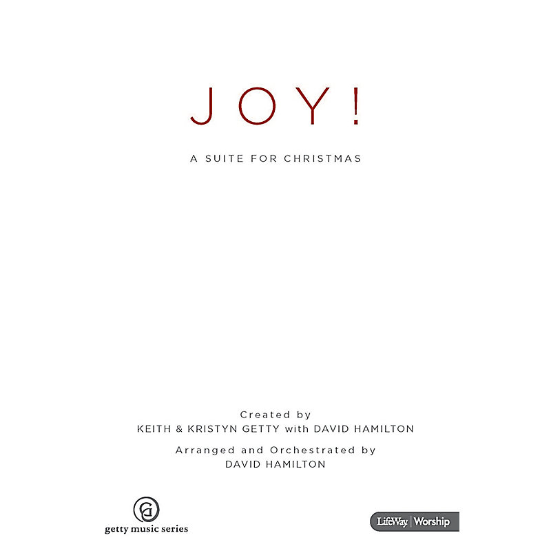 Joy! A Suite for Christmas - Choral Book - LifeWay