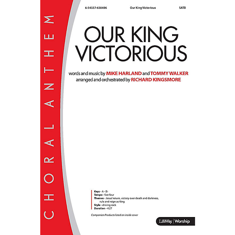 Our King Victorious - Anthem