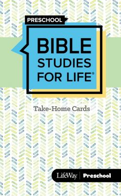Bible Studies for Life Kids Take Home Cards