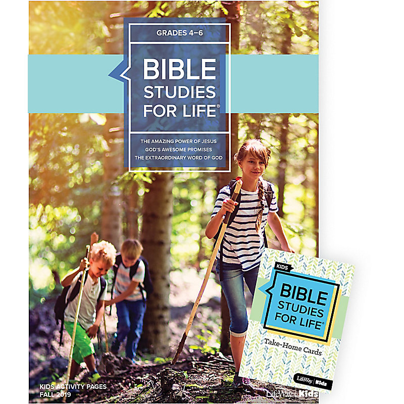 Bible Studies For Life: Kids Grades 4-6 Combo Pack Fall 2019