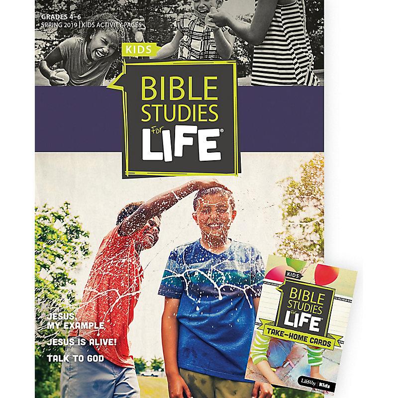 Bible Studies For Life: Kids Grades 4-6 Combo Pack Spring 2019