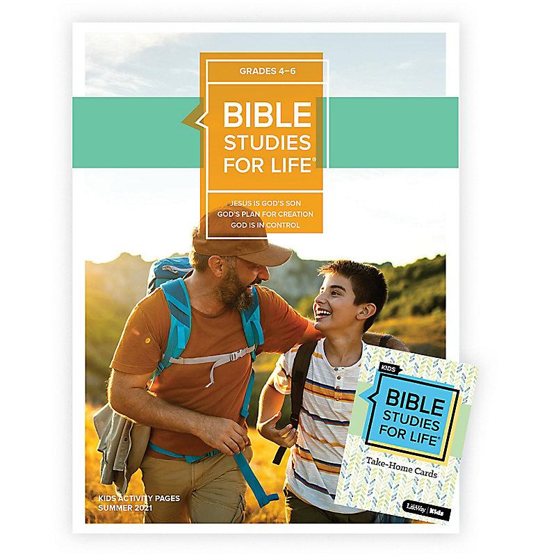 Bible Studies For Life: Kids Grades 4-6 Combo Pack Summer 2021