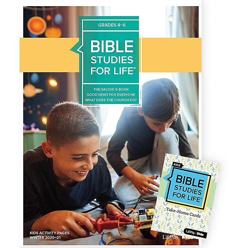 Bible Studies for Life: Kids Grades 4-6 Combo Pack Winter 2021