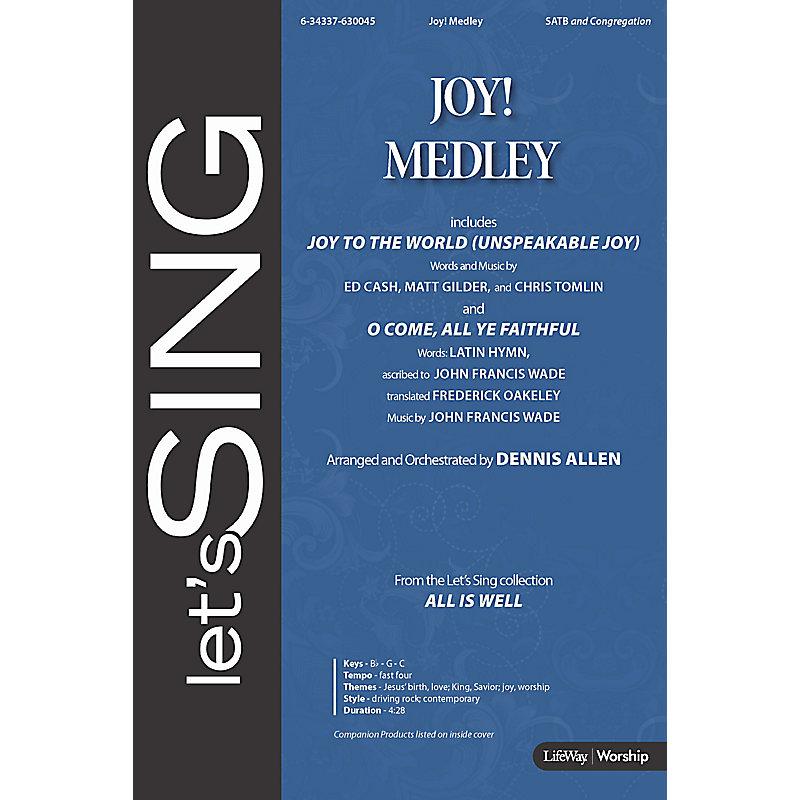Joy! Medley - Downloadable Bass Guitar Rehearsal Track