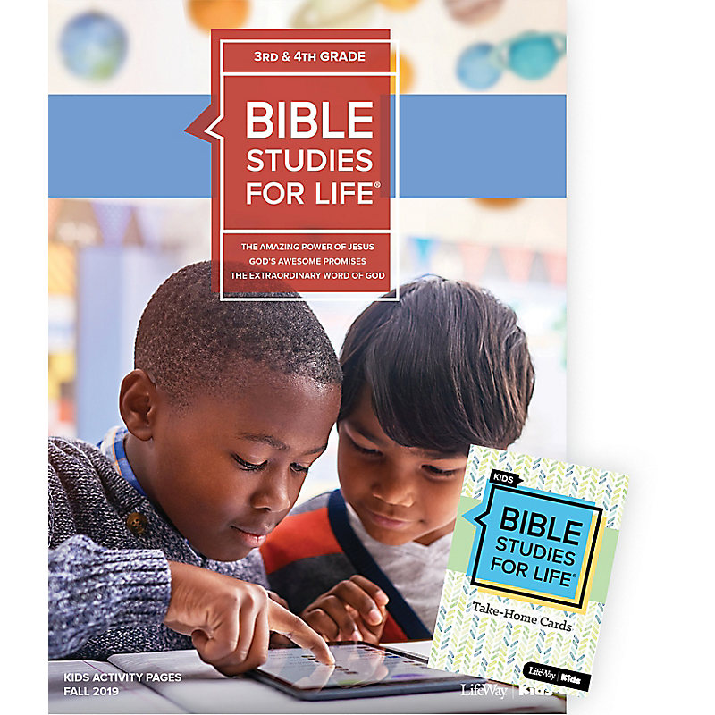 Bible Studies For Life: Kids Grades 3-4 Combo Pack Fall 2019