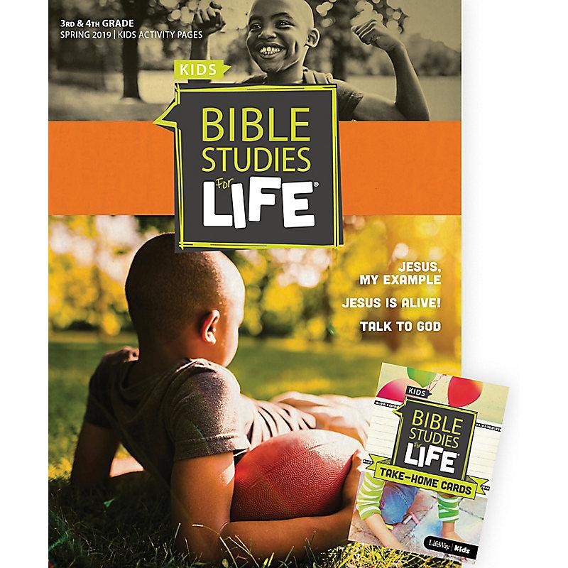 Bible Studies For Life: Kids Grades 3-4 Combo Pack Spring 2019