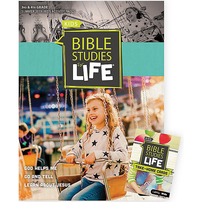 Bible Studies For Life: Kids Grades 3-4 Combo Pack Summer 2019