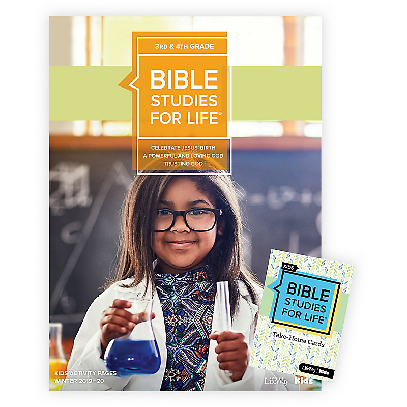 Bible Studies For Life: Kids Grades 3-4 Combo Pack Winter 2020