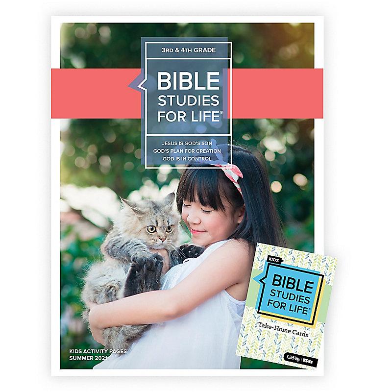 Bible Studies For Life: Kids Grades 3-4 Combo Pack Summer 2021