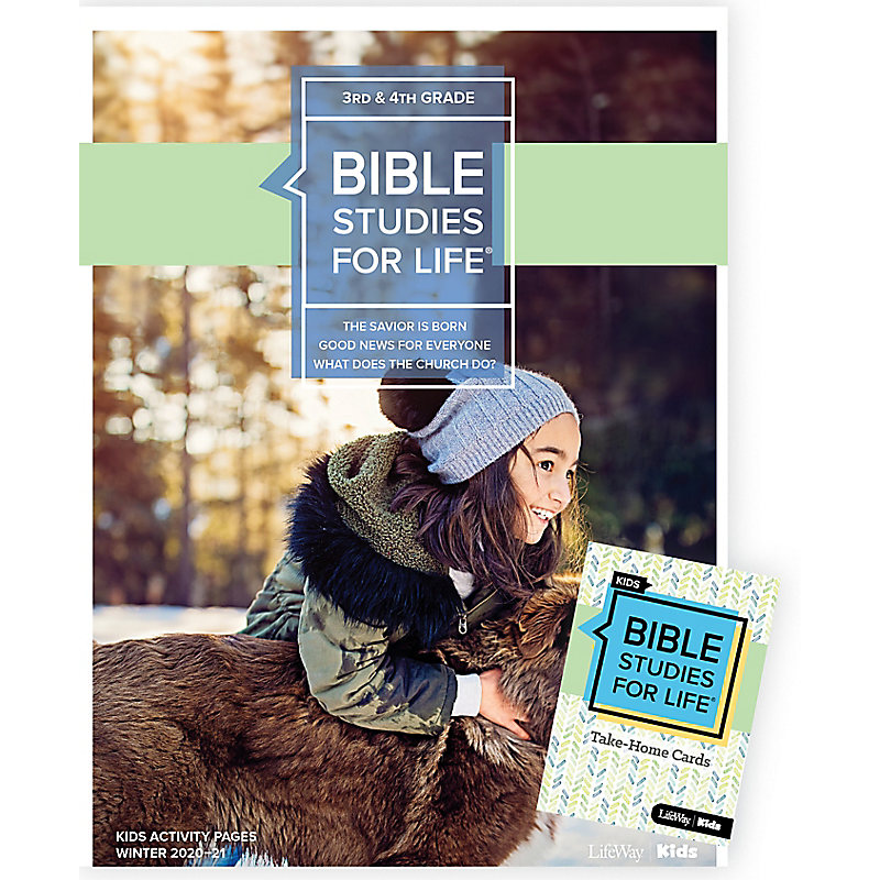 Bible Studies for Life: Kids Grades 3-4 Combo Pack Winter 2021