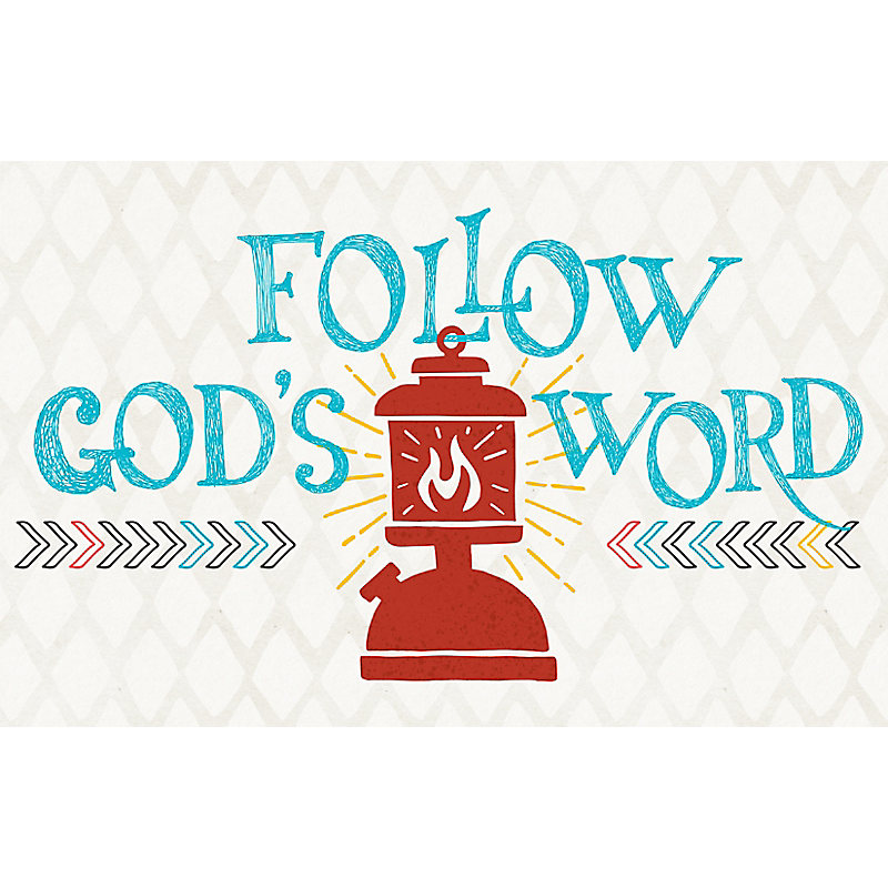 Bible Studies For Life: Kids Follow God's Word Postcards Pkg. 25