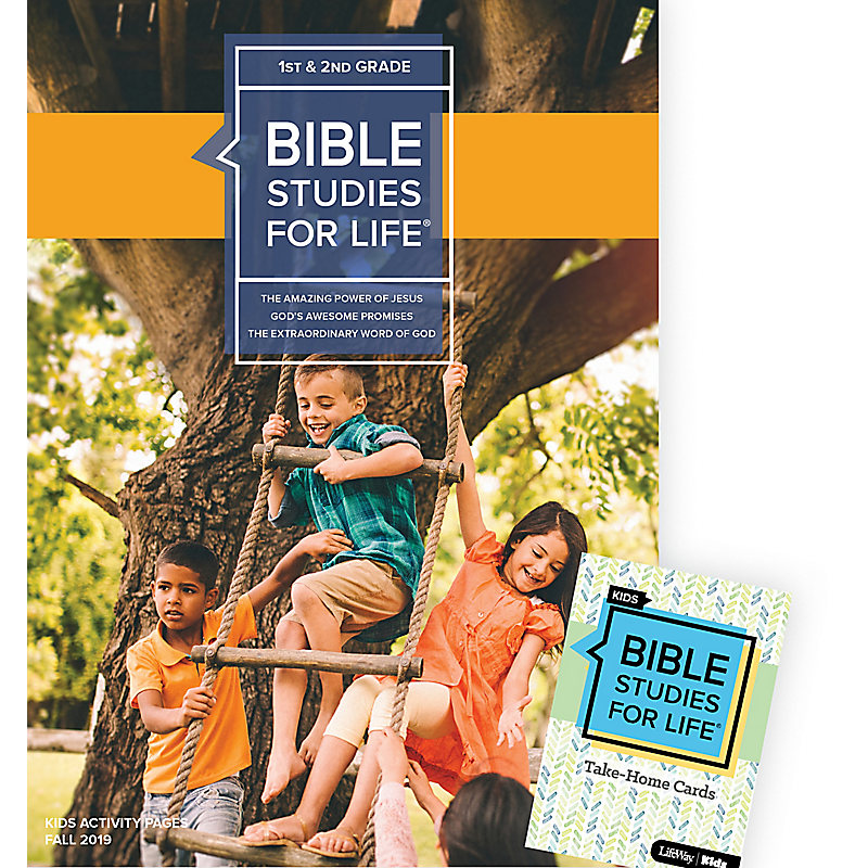 Bible Studies For Life: Kids Grades 1-2 Combo Pack Fall 2019