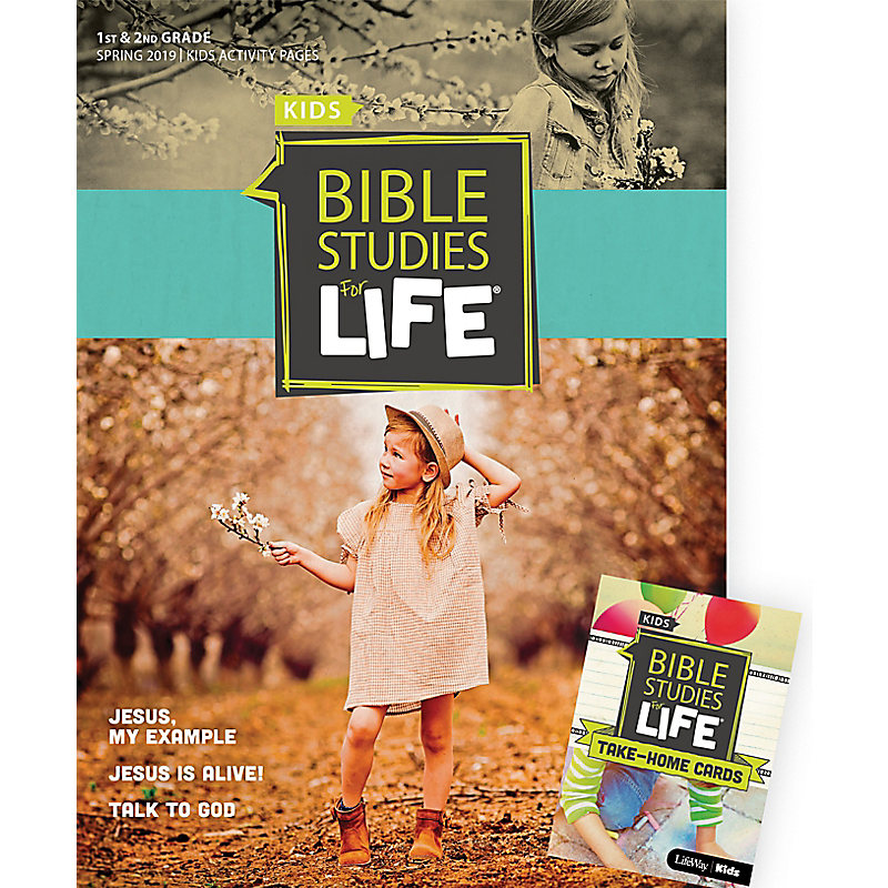 Bible Studies For Life: Kids Grades 1-2 Combo Pack Spring 2019