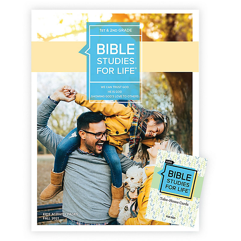 Bible Studies For Life: Kids Grades 1-2 Combo Pack Fall 2021