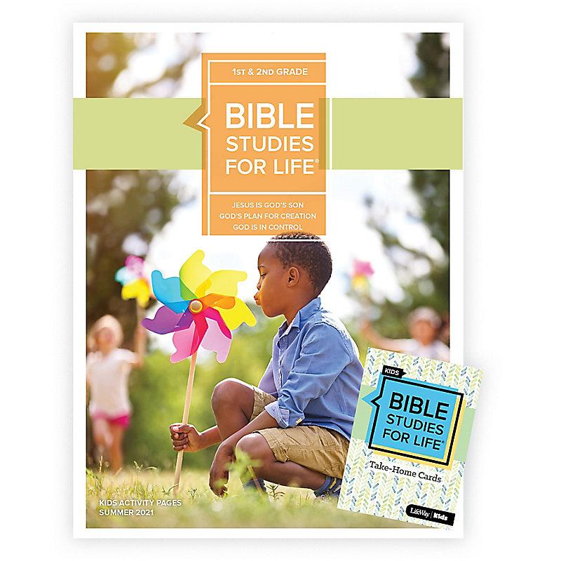 Bible Studies For Life: Kids Grades 1-2 Combo Pack Summer 2021