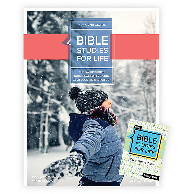 Bible Studies for Life: Kids Grades 1-2 Combo Pack Winter 2021