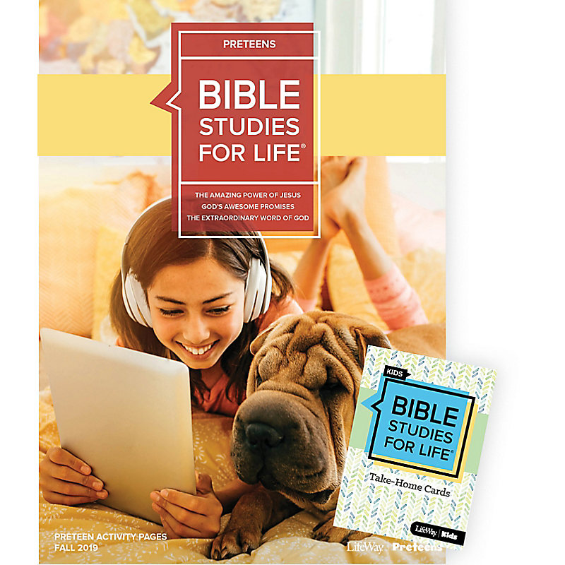 Bible Studies For Life: Preteens Combo Pack Fall 2019