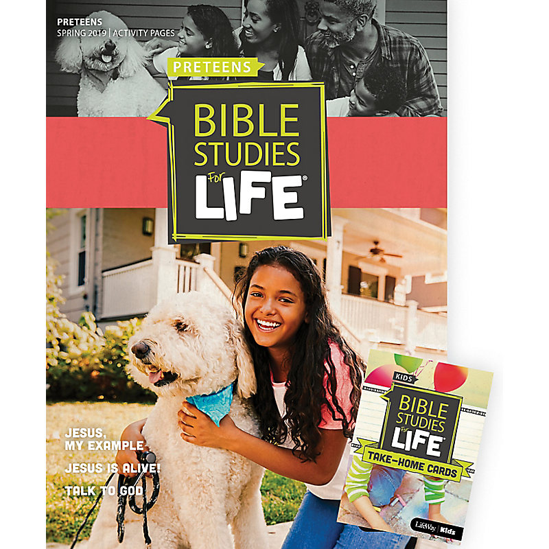 Bible Studies For Life: Preteens Combo Pack Spring 2019