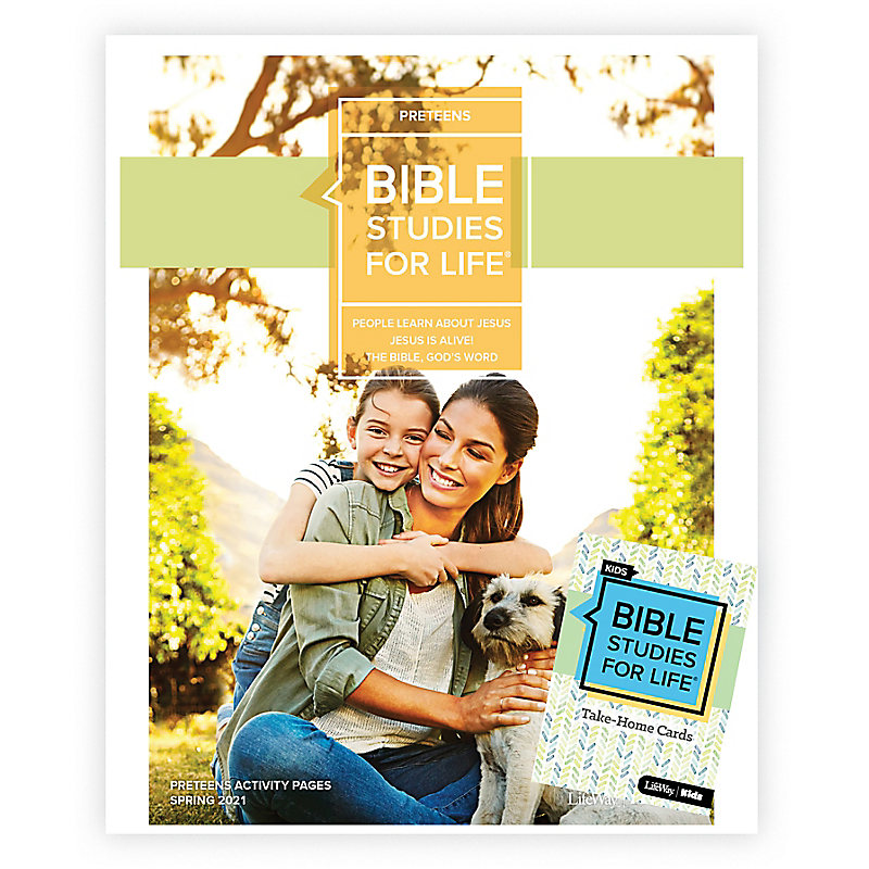 Bible Studies for Life: Preteens Combo Pack Spring 2021