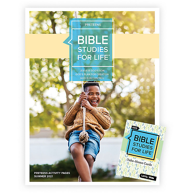 Bible Studies For Life: Preteens Combo Pack Summer 2021