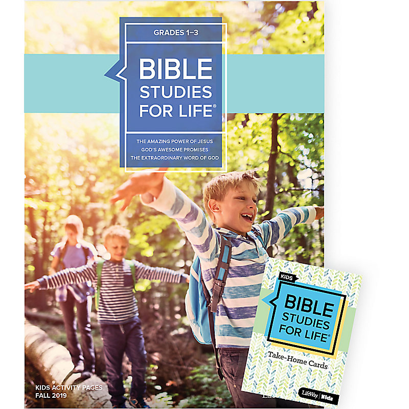 Bible Studies For Life: Kids Grades 1-3 Combo Pack Fall 2019