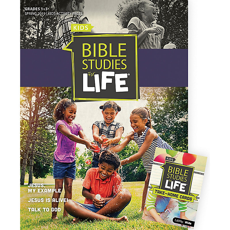 Bible Studies For Life: Kids Grades 1-3 Combo Pack Spring 2019