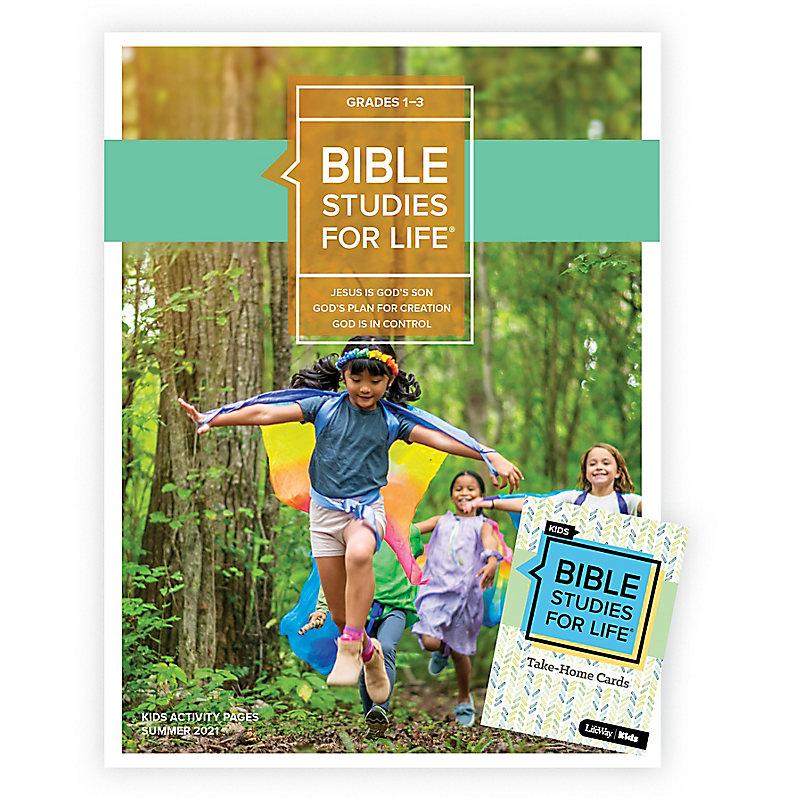 Bible Studies For Life: Kids Grades 1-3 Combo Pack Summer 2021