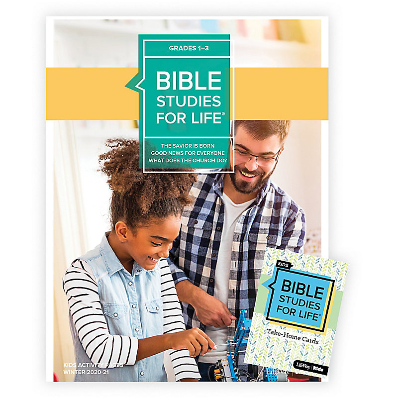 Bible Studies for Life: Kids Grades 1-3 Combo Pack Winter 2021