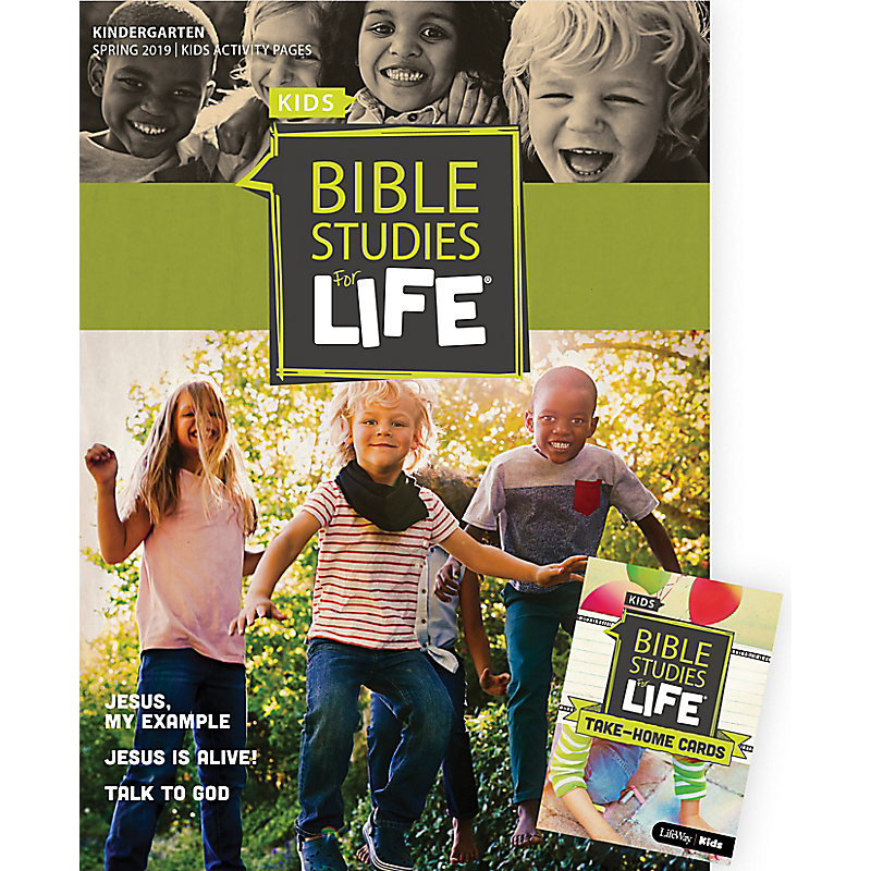 Bible Studies For Life: Kindergarten Combo Pack Spring 2019