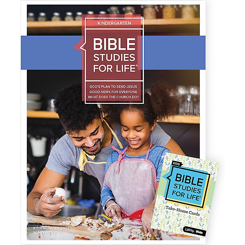Bible Studies for Life: Kindergarten Combo Pack Winter 2021