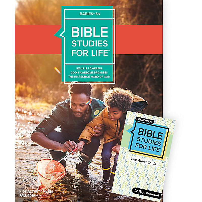 Bible Studies For Life: Babies-5s Combo Pack Fall 2019
