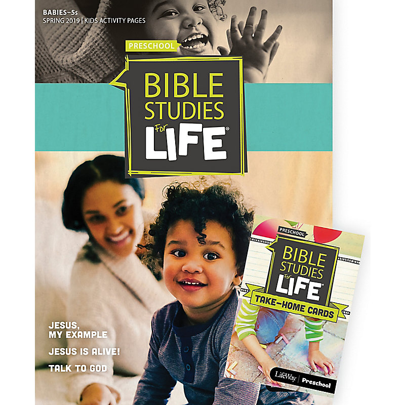 Bible Studies For Life: Babies-5s Combo Pack Spring 2019