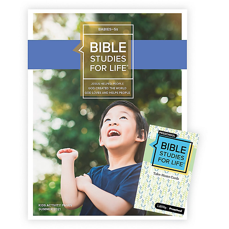 Bible Studies For Life: Babies-5s Combo Pack Summer 2021