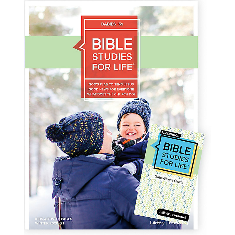 Bible Studies for Life: Babies-5s Combo Pack Winter 2021