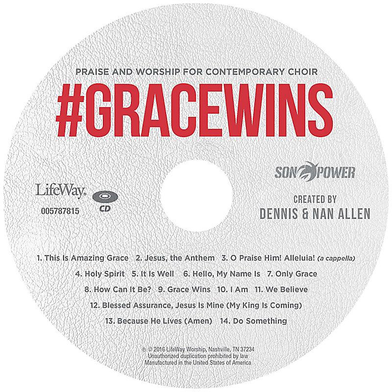 #GraceWins - Listening CD
