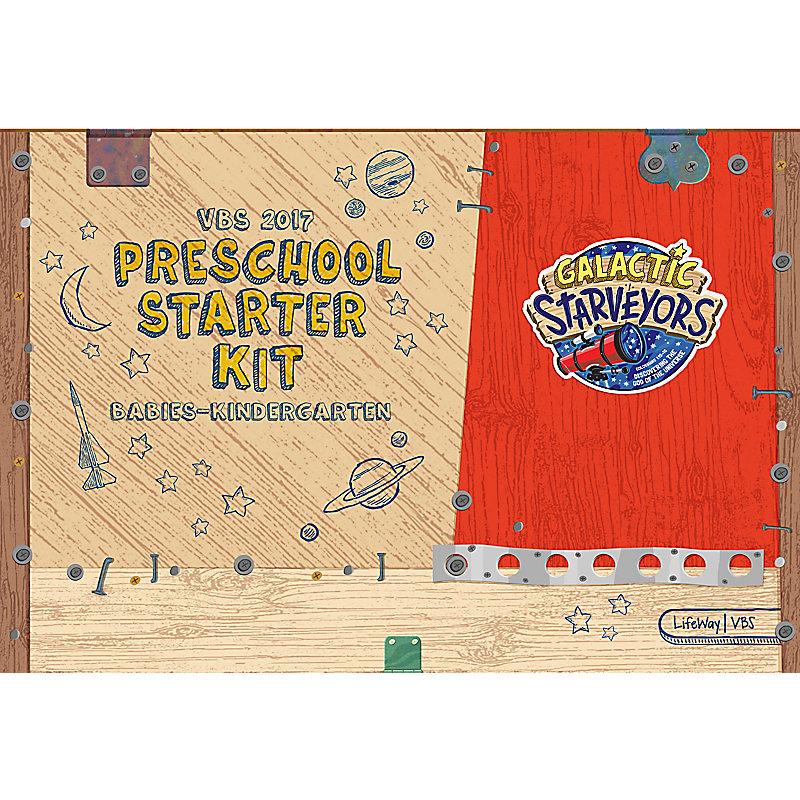 VBS 2017 Preschool Starter Kit: Babies-Kindergarten