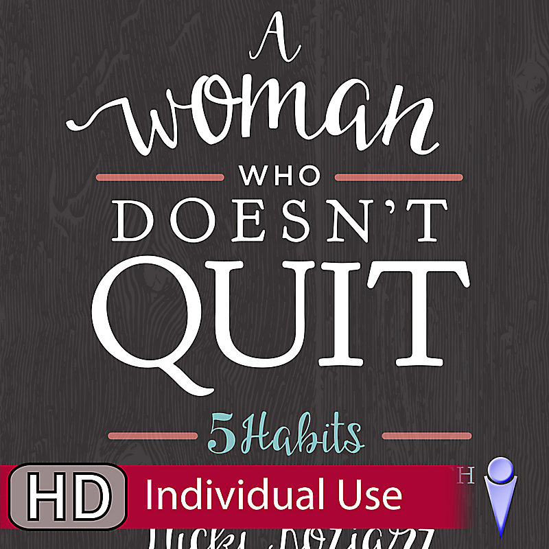A Woman Who Doesn't Quit - Individual Use Video Bundle