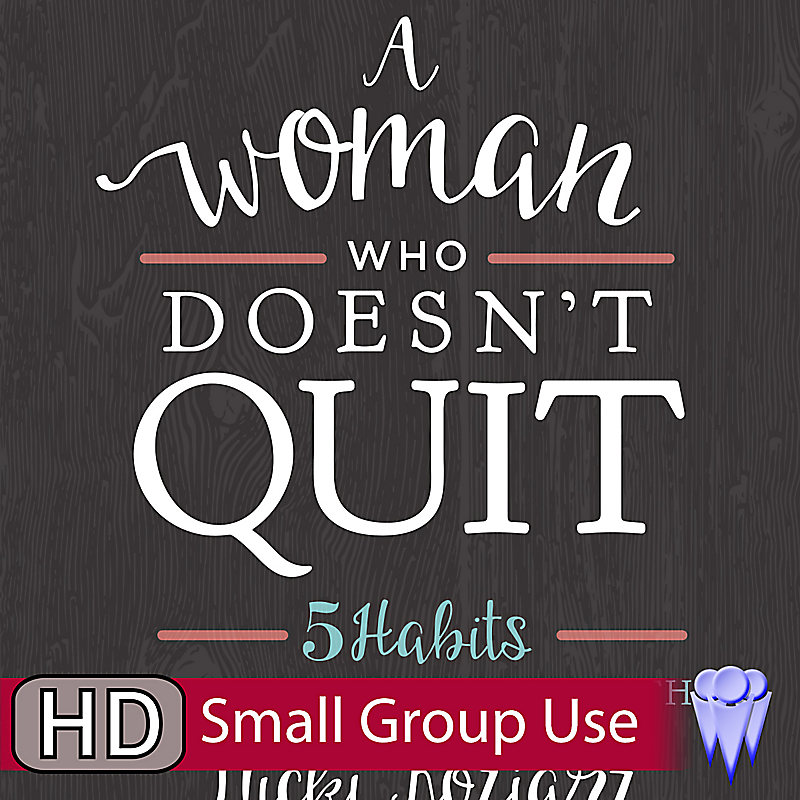 A Woman Who Doesn't Quit - Group Use Video Bundle
