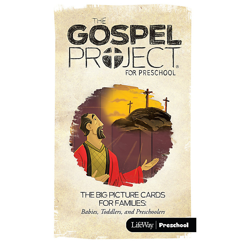 The Gospel Project for Preschool: Big Picture Cards for Families: Preschool - Volume 5: Prophets and Kings