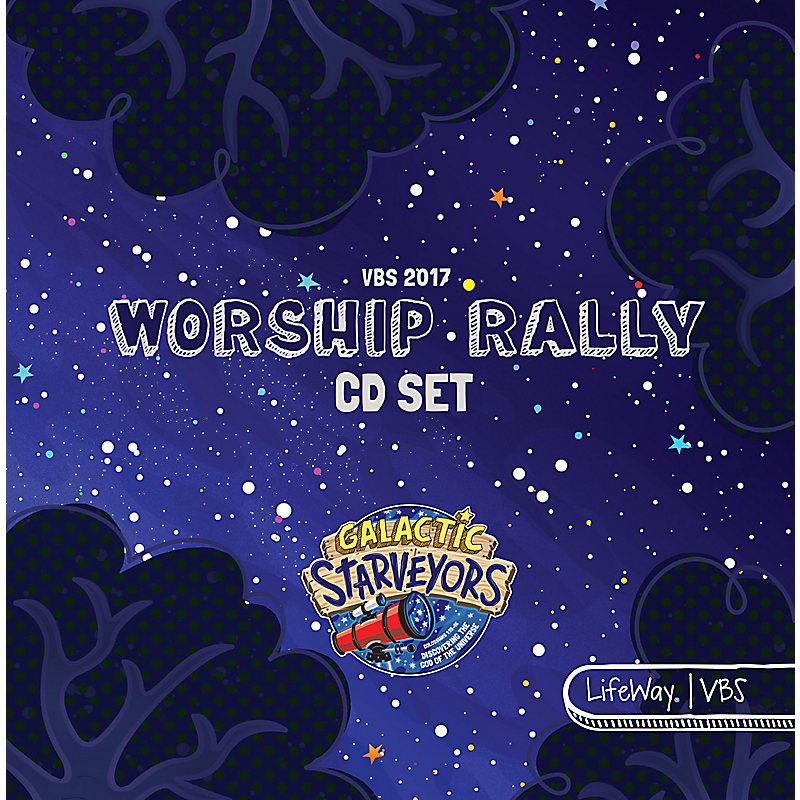 VBS 2017 Worship Rally CD Set