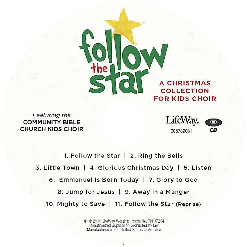 follow the star listening cd - Christmas Programs For Small Churches