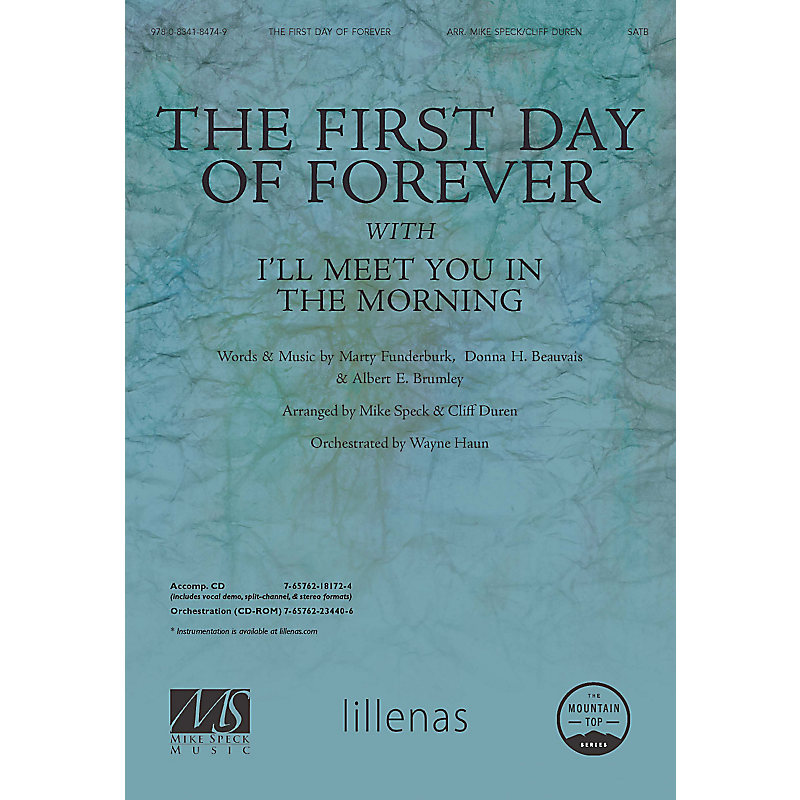 The First Day Of Forever With Ill Meet You In The Morning Anthem