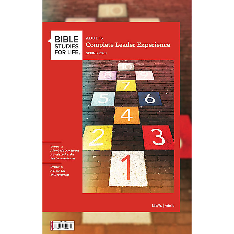 Bible Studies for Life: Adult The Complete Leader Experience - Fall 2020